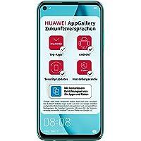 HUAWEI P40 lite Dual-SIM Smartphone Bundle (16 cm (6,4 Zoll), 128 GB interner Speicher, Android 10.0 AOSP ohne Google Play Store, EMUI 10.0.1) crush green [Exklusiv +5EUR Amazon Gutschein]