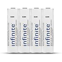 Envie Infinite AA Rechargeable Batteries | High-Capacity Ni-MH | 2100 mAh | Low Self Discharge | (Pack of 4…