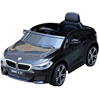 HOMCOM Compatible for Electric Kids Ride on Car Electric Battery Powered Cord Led Headlights Music Play with Remote BMW 6GT