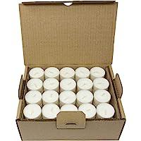 Tasse compostable Bougies à thé Compostage Industriel Cire végétale Cire de Colza Bougies Chauffe-Plat 4 Heures de Temps…
