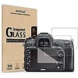 (Pack of 3) Tempered Glass Screen Protector For Nikon D7100 D7200 D800 D800e D810 D750 D600 D610 D500, Akwox [0.3mm 2.5D…