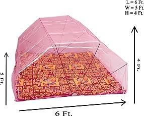 Elegant 3*6 Feet Polynet Single/Double Bed Mosquito Net