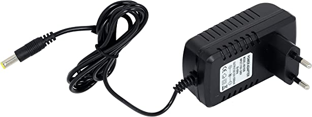 Vihan Electric Vehicles Company 12 V and 1500 mA Charger for Ride on Toy Electric Bikes and Cars (Black)