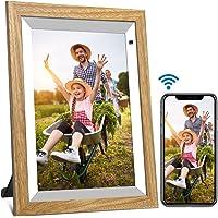 Digitaler Bilderrahmen WiFi 10-Zoll YENOCK Foto und Video sofort über App/Facebook/Twitter/E-Mail teilen Überall…