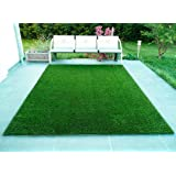 F2L Solid Carpet for Balcony - for Home Decoration - Floor Mat for Living Room, Office - Summer Use (Green, Polypropylene, 2