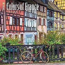 Colors of France 2018 Calendar