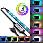 USB Powered RGB 5050 LED Strip Lighting For TV Computer Background Light