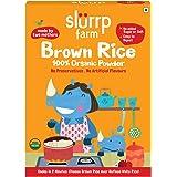 Slurrp Farm Organic Brown Rice Powder | Instant Healthy Wholesome Food, 250 G
