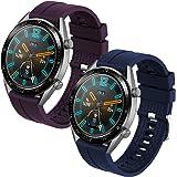 Th-some Correa para Huawei Watch GT 2/ Huawei Watch GT Fashion/Sport/Active/Elegant/Classic/Gear S3 Frontier/Galaxy Watch 46m
