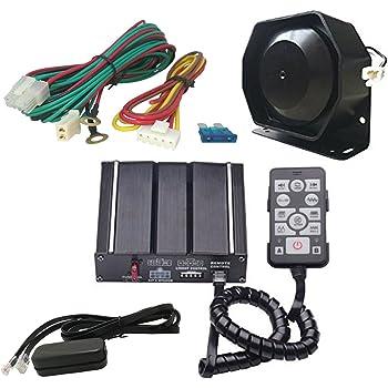 Acoustic 5 Tone Siren 60W 130 dB US Police Ambulance Fire