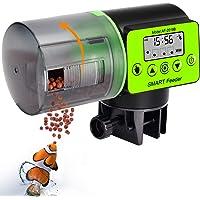 KINOEE Mangeoire Automatique pour Poissons d'aquarium, mangeoire électrique Automatique étanche à l'humidité, mangeoire…