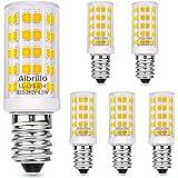 Albrillo E14 LED lamp warm wit 3000K met 64 SMD LED's, 4.5W / 400LM gloeilampvervanging 50W halogeenlampen, 360 ° stralingsho