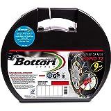 Bottari 18820, Rapid T2, Catene da neve per auto 9 mm, Misura 100, Omologate TUV e GS Onorm