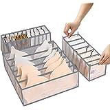ABClife 3 Pièces Organisateur De Tiroir sous VêTements,Organisateurs d'armoires de Placard et Boîtes de Rangement Lavable Pli