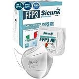 Eurocali 10 Mascherine Protettive FFP3 Certificate CE | Made in Italy | BFE ≥99% | PFE ≥99% | Mascherina Italiana sigillata s