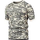 STARTAIKE Men's Short Sleeve Tactical Work Combat T-Shirt Shirt Quick Dry UV Protection