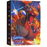 JOYUE Pokemon Kaartenhouder Album, Pokemon Binder voor Kaarten, Kaarten Album Book, Pokemon Card Protector Sleeves, Pokemon C