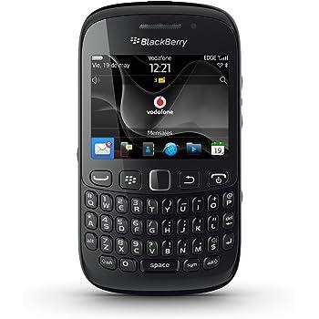 "BlackBerry Curve 9220 Davis - Smartphone libre (pantalla de 2,44"" 320 x 240, cámara 2 MP, 512 MB de capacidad, procesador de 806 MHz, 512 MB de RAM, teclado QWERTY, S.O. BlackBerry 7.1) color negro"