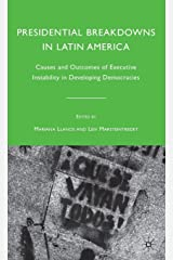 Presidential Breakdowns in Latin America Hardcover