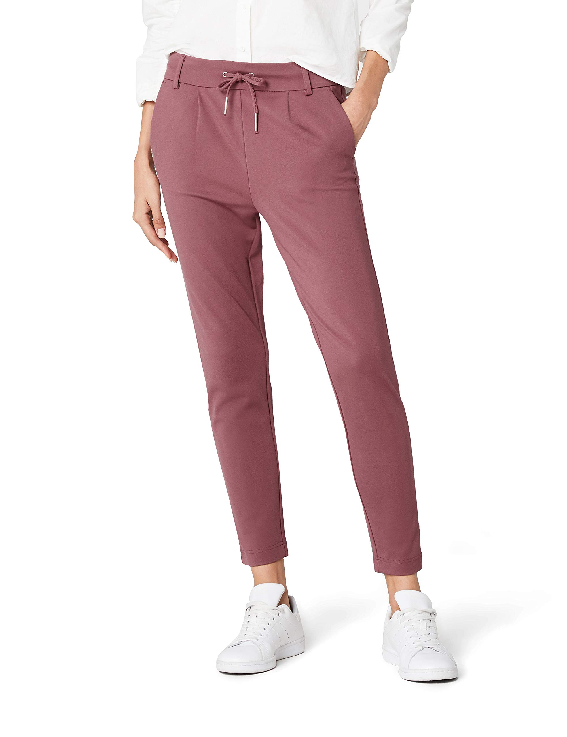 1b4f30161d5c1 ONLY Damen Hose Onlpoptrash Easy Colour Pant Pnt Noos, Weiß (Cloud ...