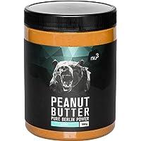 nu3 Beurre de cacahuète naturel onctueux (Peanut Butter) 1kg 100% beurre d'arachide - Naturellement protéiné - Sans sucre, sel et huile de palme – Puree de cacahuètes pour tartines ou en cuisine
