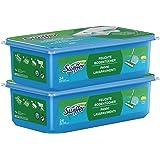 Swiffer Bodenwischer Feuchte Bodentücher Nachfüllpackung mit frischem Zitrusduft 48 St., für eine schnelle und einfache Reinigung