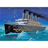 DIY 5D Diamond Art Volledige Boor Diamante Ornamenten Tekening Schilderen Titanic Crystal Strass Borduurwerk Gemakkelijk Krui