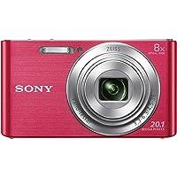 Sony DSC-W830 Digitalkamera (20,1 Megapixel, 8x optischer Zoom, 6,8 cm (2,7 Zoll) LC-Display, 25mm Carl Zeiss Vario…