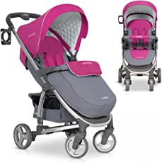 Buggy VIRAGE Alu Sport Kinderwagen für Baby ab 1. Monat - Zusammenklappbar und mit Liegefunktion