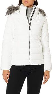Tommy Hilfiger Tjw Essential Hooded Jacket Kadın Mont Ve Kaban