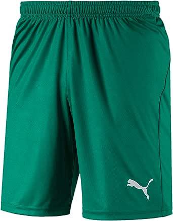 PUMA Men's Liga Shorts Core With Brief Training Shorts