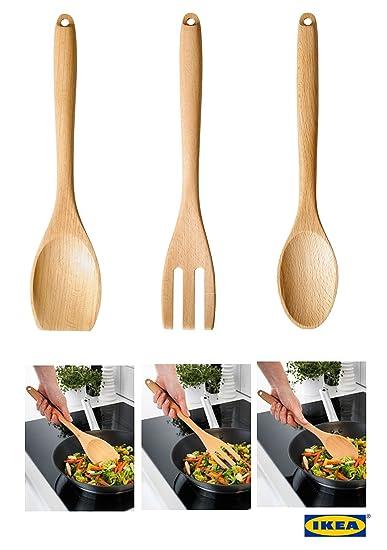 IKEA rort qualità standard legno massello di faggio utensili da ...