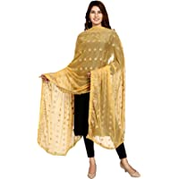 SWI WITH LABEL Women's Embroidered Dupatta