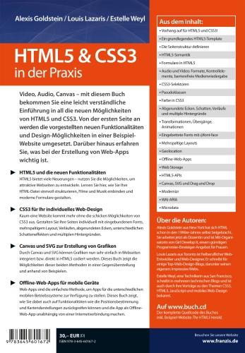 HTML5 & CSS3 in der Praxis