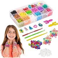 a ray of sunshine Loom Bands Elastiques,Loom Bands Kit,Métier à Tisser Perles Enfant,Kit de Métier à Tisser,Bracelet…