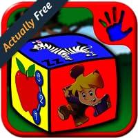Vorschule ABC Zahl und Buchstaben-Puzzle-Spiele - lehrt junge Kinder Alphabet zählen und Jigsaw Formen geeignet für Kinder im Kleinkind Alter 2 Jahre und höher