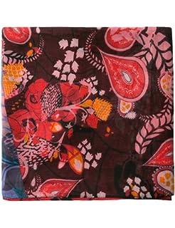 064188d435d Desigual California fresh Femme Foulard Rouge