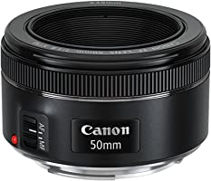 Canon EF 50mm f/1.8 STM Standard Lens