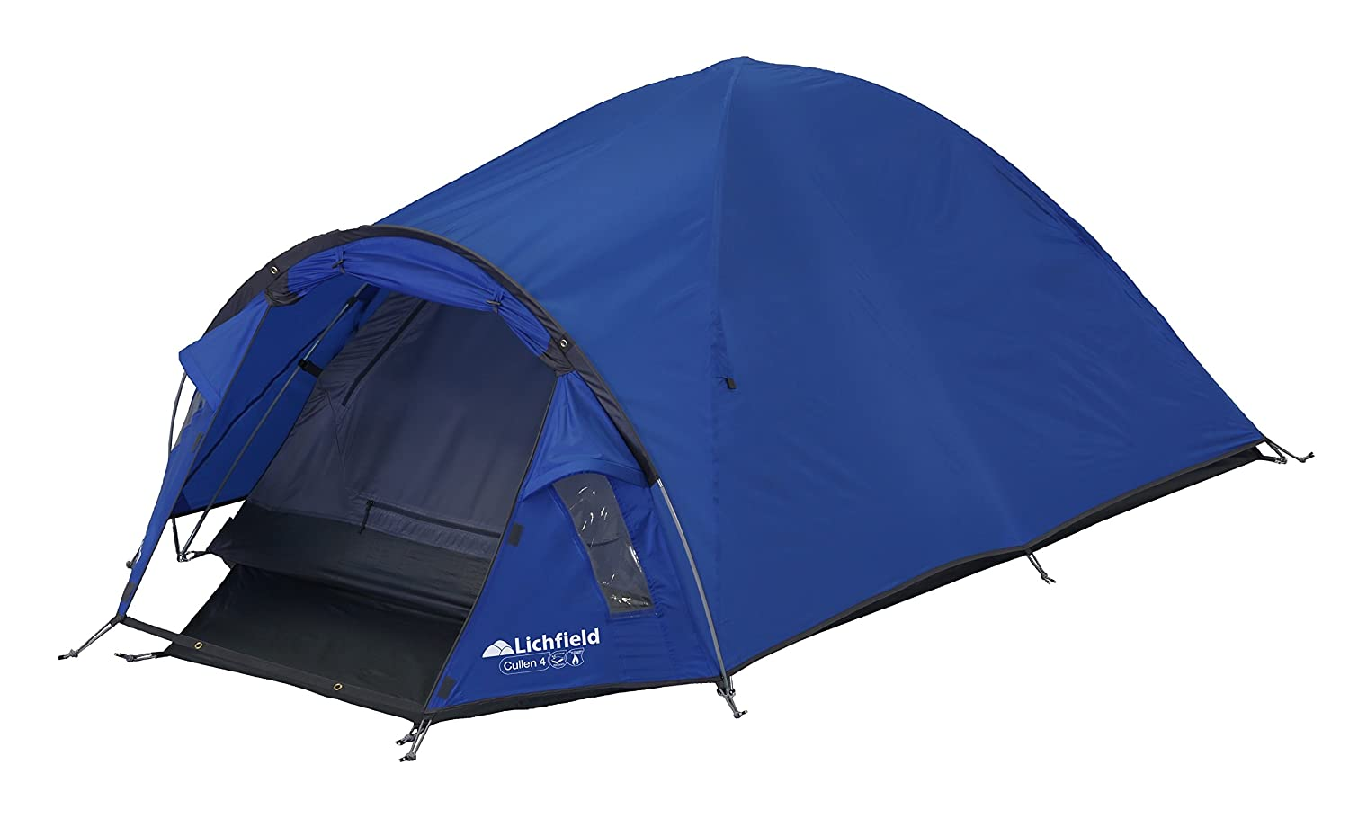 Lichfield Cullen Dome Tent Atlantic Blue 4 Amazon.co.uk Sports u0026 Outdoors  sc 1 st  Amazon UK & Lichfield Cullen Dome Tent Atlantic Blue 4: Amazon.co.uk: Sports ...