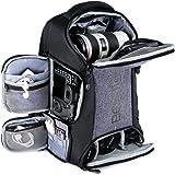 Beschoi Kamerarucksack, wasserdichte Kameratasche mit Stativgurt und Regenschutz, große Kapazität, Rucksack für Digitale…