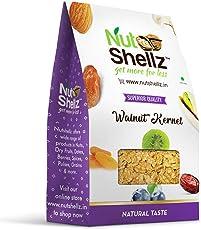 Nutshellz Walnut Kernels {500 grams} [Akhrot giri / Akrottu] - Whole (without shell) - 1st quality - 100% quality guaranteed