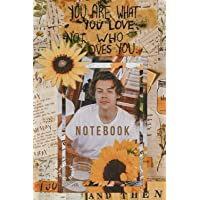 Harry Styles : Notebook and Journal Perfect for Birthday gifts and Fan club members: perfectly Lined journal with 110…