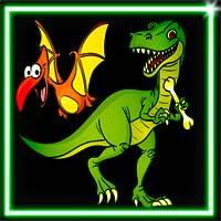 Draw Neon Glow Dino Coloring Book