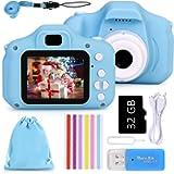 Faburo Macchina Digitale Bambini con Scheda SD 32 GB, Fotocamera Bambino Portatile Digital Camera Kids Videocamera…
