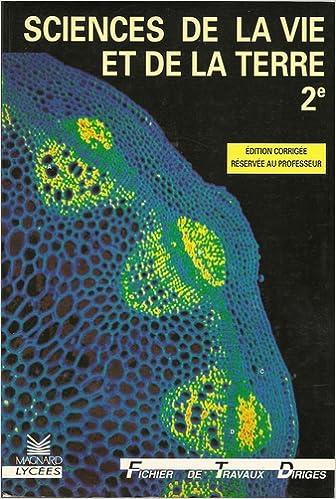 Biologie seconde FTD maître, Science de la Vie et de la Terre pdf