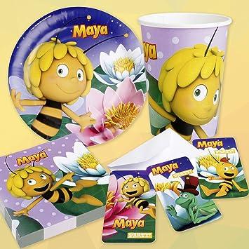 6 Biene Maja Einladungskarten Mit Umschlägen Kindergeburtstag Einladungen  Einladungsset Geburtstagseinladungen Kinder Party Karten Partyeinladungen .