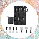 Muurverf schrapers,7 Stks sterkte en duurzaamheid Draagbare Muurschrapers Set Verf Behang Schraper Set Staal Putty Messen Put