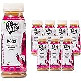 &Me PCOS, PCOD - Women Health Drink with Ayurvedic Herbs and Vitamins (Shatavari, Lodhra, Vitamin B12) - 1.6lt…