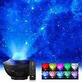 Proiettore a Luce Stellare,Elekin Proiettore Stellato Soffitto, Proiettore LED a Cielo Stellato con Altoparlante Bluetooth,Ti