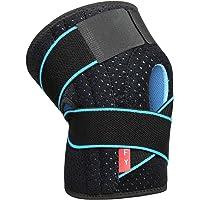 FY Tutore Ginocchio con Stabilizzatori Laterali Ginocchiera Rotulea Regolabile Supporto Sportiva Neoprene per Legamenti…